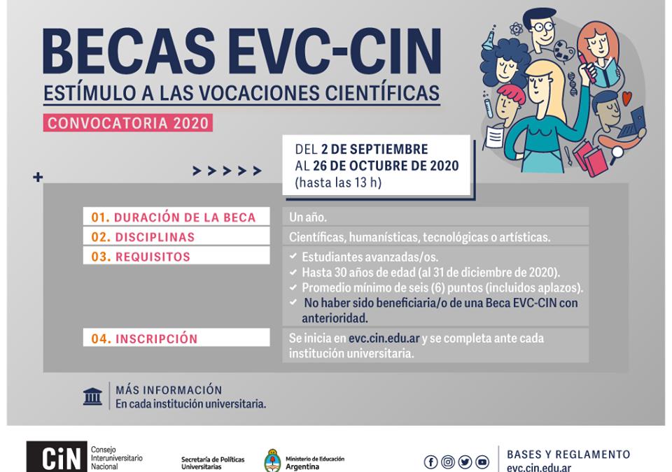 Convocatoria EVC-CIN 2020