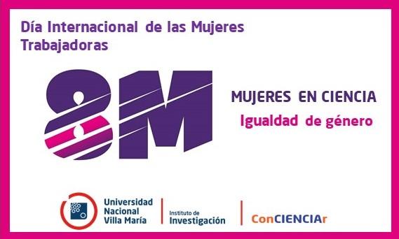 """""""8M""""- Mujeres en Ciencia"""