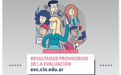 Convocatoria 2020 BECAS EVC: Resultados provisorios y reconsideraciones