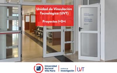 Unidad de Vinculación Tecnológica (UVT) en Investigación: Proyectos I+D+i