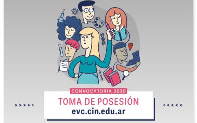 Becas EVC 2020: Toma de posesión