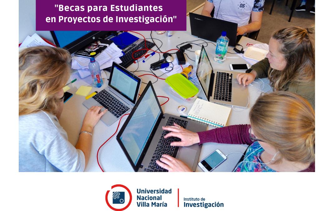 Resultados: Becas para Estudiantes en Proyectos de Investigación