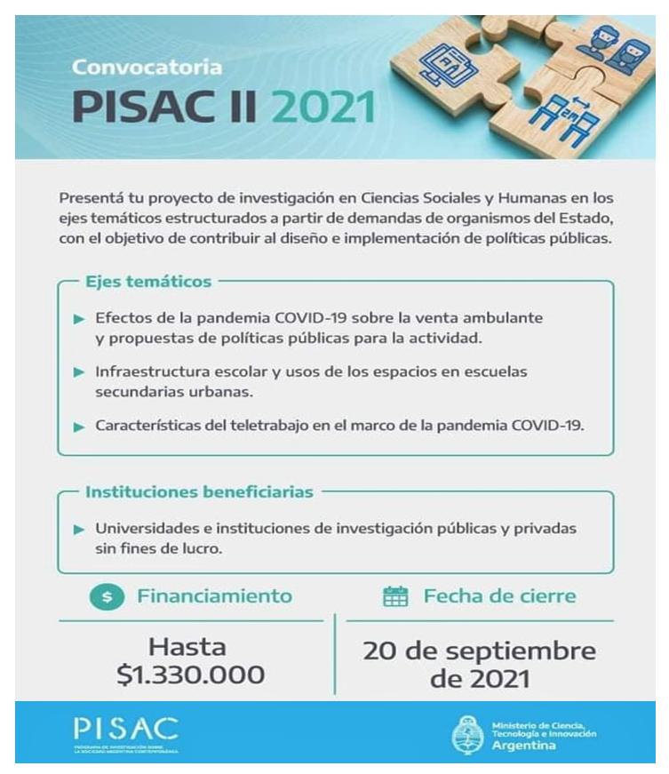 PISAC - INVESTIGACION